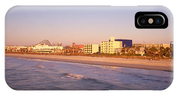 Condo iPhone Case - Myrtle Beach Sc by Panoramic Images