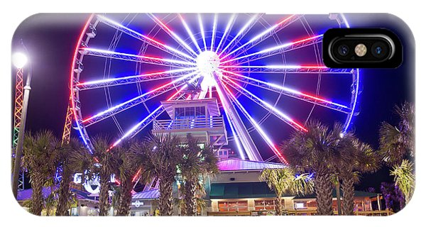 Myrtle Beach Sky Wheel IPhone Case