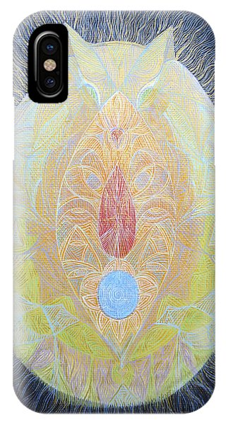 Mysterious Sigi-tolo Containing Po In The Shape Of Pale Fox Phone Case by Lola Lonli