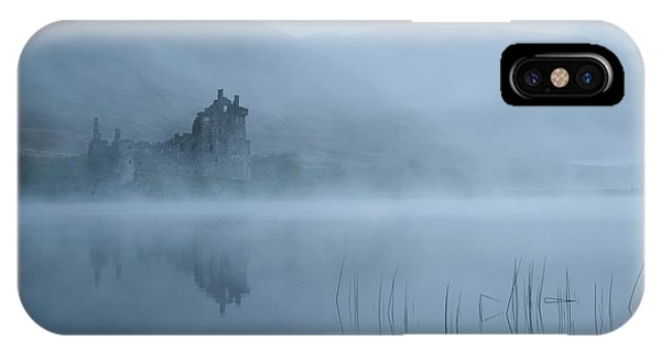 Fog iPhone Case - Mysterious by Susanne Landolt