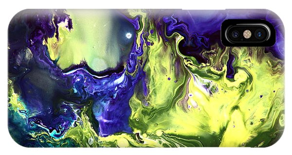 Mysterious Way Bright Abstract Painted By Nature IPhone Case