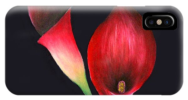 Mystic Calla Lillies Phone Case by Mary Gaines