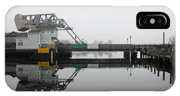 Mystic Ct Drawbridge IPhone Case