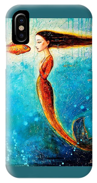 Mystic Mermaid II IPhone Case