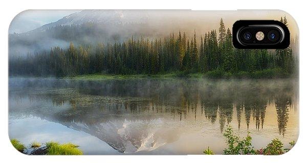 Mystic Rainier IPhone Case