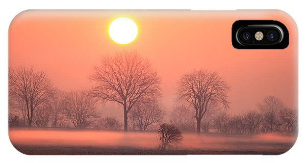Mystic Red Sunrise IPhone Case