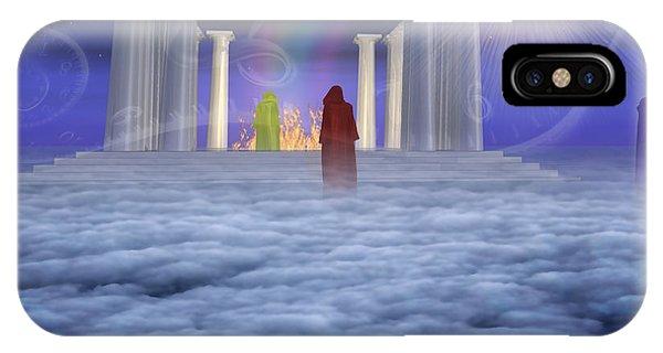 Mystic Temple IPhone Case