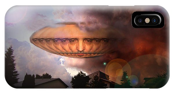Mystic Ufo IPhone Case