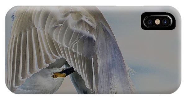 Mystical Egret IPhone Case