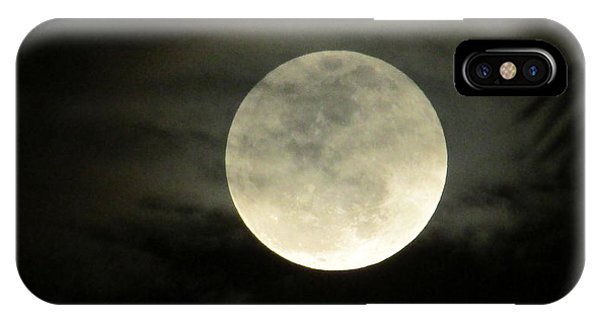 Mystical Moon Over Tampa IPhone Case