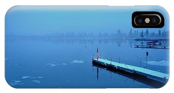 Mystical  Morning - Skaha Lake 03-06-2014 IPhone Case