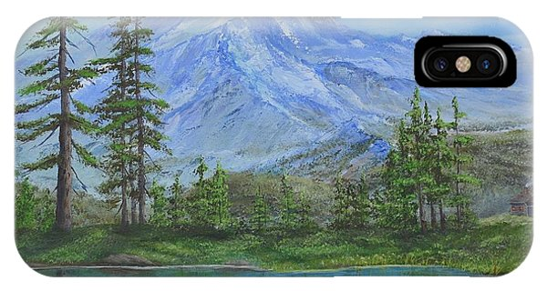 Mystical Mt. Rainier  IPhone Case