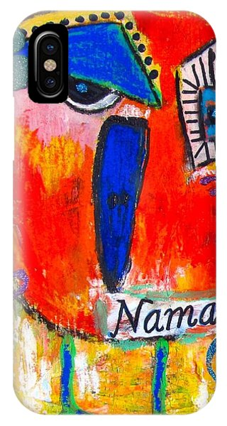 Namaste Birdie Acknowledges The Soul In You  IPhone Case