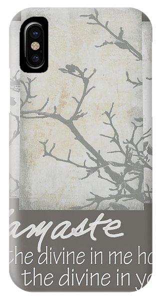 Namaste Quote IPhone Case