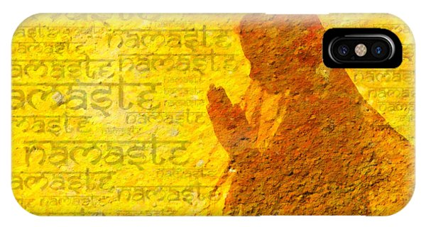 Worship iPhone Case - Namaste  by Tim Gainey
