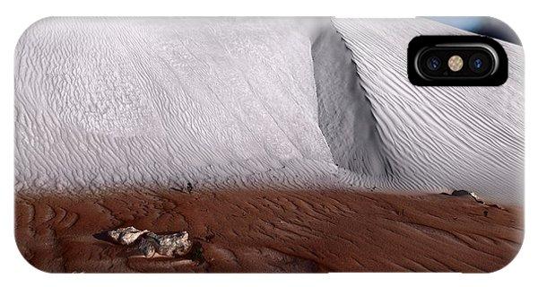 Nambung Desert Floor IPhone Case