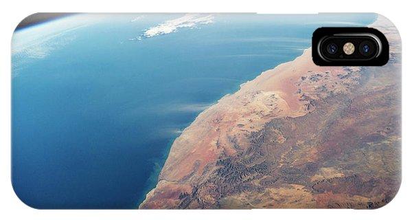 International Space Station iPhone Case - Namib Desert by Nasa