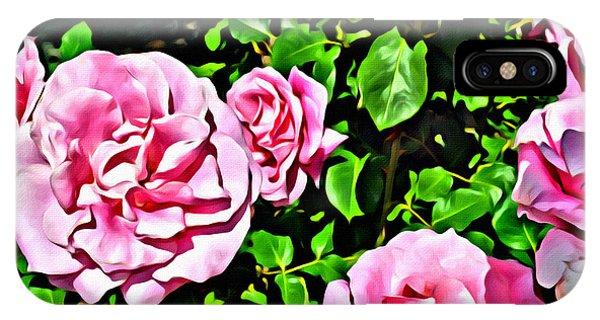 Nana's Roses IPhone Case