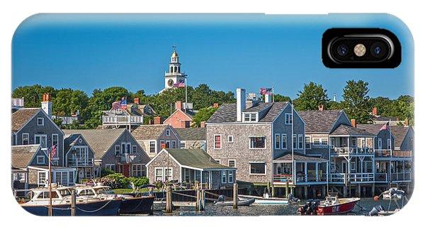 Nantucket Town IPhone Case