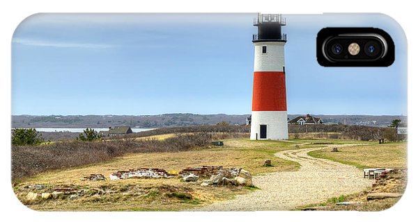 Nantucket's Sankaty Head Light IPhone Case