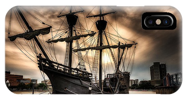 Nao Victoria In Hdr IPhone Case