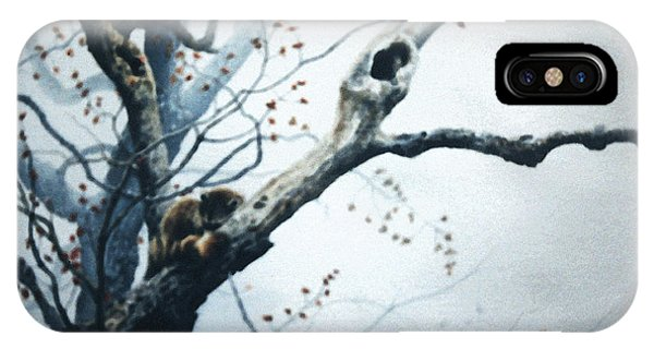 Nap In The Mist IPhone Case