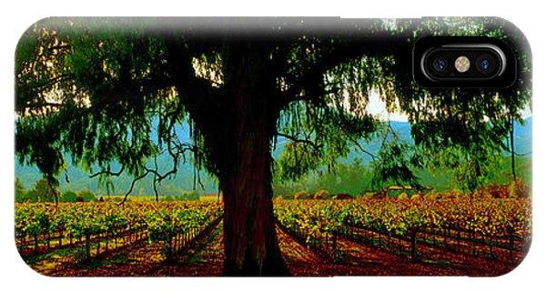 Napa Valley Ingenook Winery Roadside IPhone Case