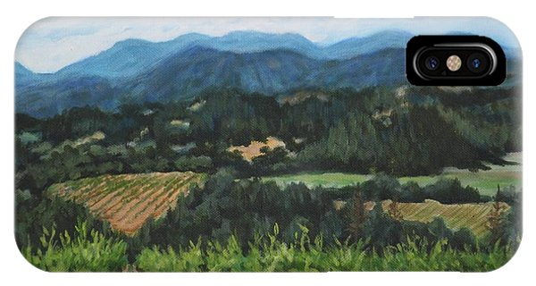 Napa Valley Vineyard IPhone Case