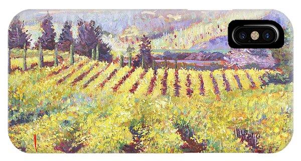 Napa Valley Vineyards IPhone Case