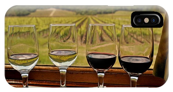 Napa Valley Wine Train Delights IPhone Case
