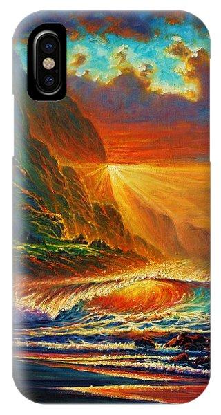 Napali Coast Sunset IPhone Case