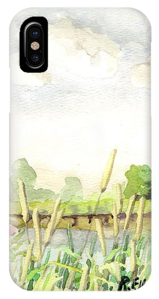 Napanee River West IPhone Case