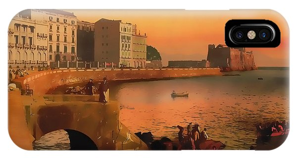 Naples Italy 1920 IPhone Case