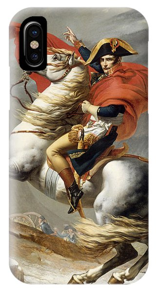 Military iPhone Case - Napoleon Bonaparte On Horseback by War Is Hell Store