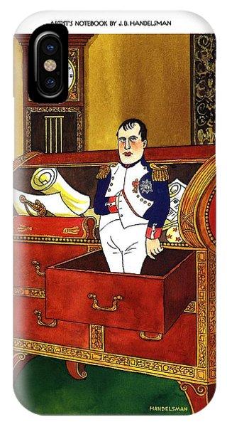 Napoleon Dans Son Bureau Apres Jacques-louis David IPhone Case