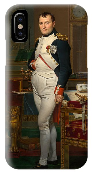 Leader iPhone Case - Emperor Napoleon In His Study At The Tuileries by War Is Hell Store