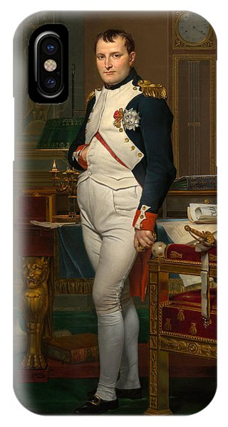 Military iPhone Case - Emperor Napoleon In His Study At The Tuileries by War Is Hell Store