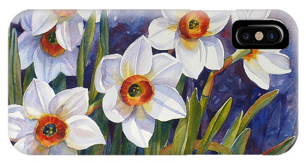Narcissus Daffodil Flowers IPhone Case