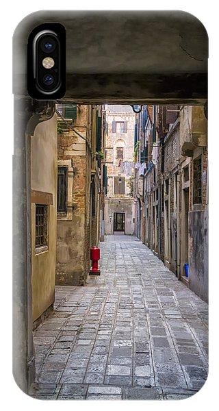 Narrow Street In Venice Phone Case by Francesco Rizzato