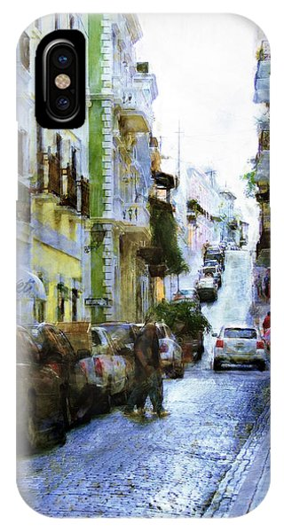 Narrow Streets IPhone Case