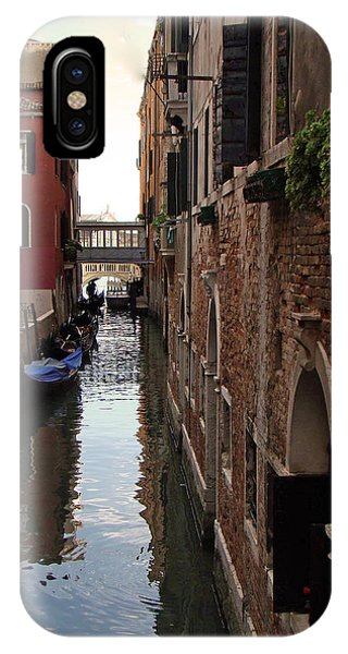 Venice Narrow Waterway IPhone Case
