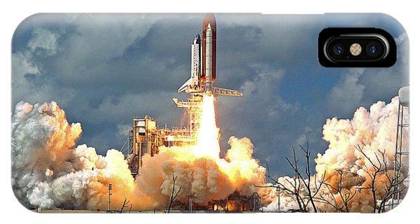 Nasa Discovery Launch IPhone Case