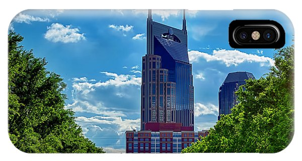 Nashville Batman Building Landscape Phone Case by Dan Holland