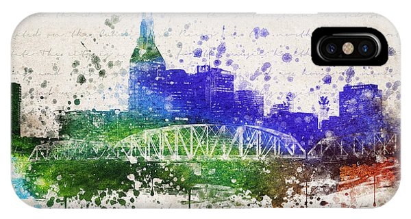 Nashville In Color IPhone Case