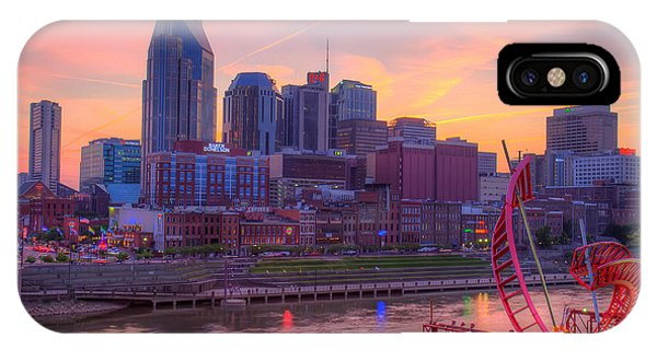 Nashville Sunset IPhone Case