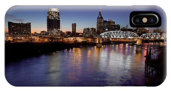 Nashville's River IPhone Case