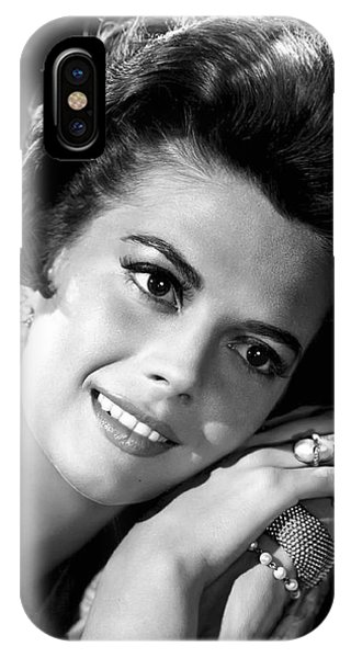 Leading Actress iPhone Case - Natalie Wood by Daniel Hagerman