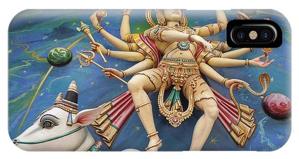 Nataraj Dancing Shiva Statue IPhone Case