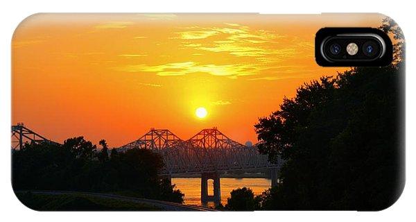 Natchez Sunset IPhone Case