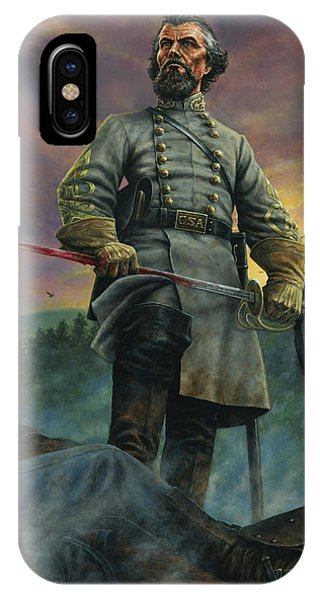Cavalry iPhone Case - Nathan Bedford Forrest by Dan Nance